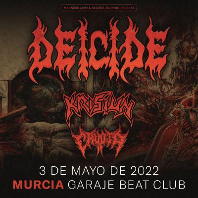 Entradas Deicide + Krisiun + Crypta (Murcia)