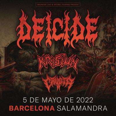 Entradas Deicide + Krisiun + Crypta (Barcelona)