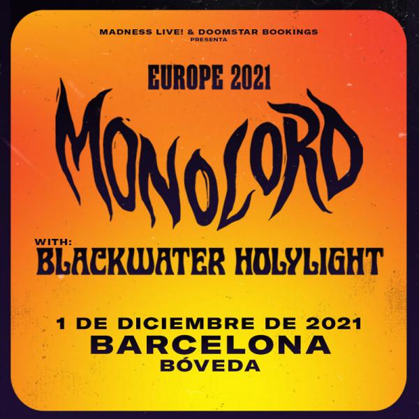 Comprar entradas Monolord + Blackwater Holylight (Barcelona)