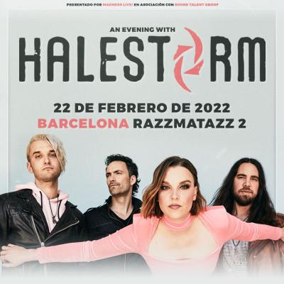 Comprar entradas Halestorm (Barcelona)
