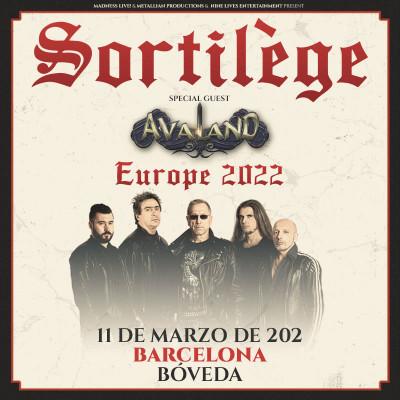 Sortilège + Avaland (Barcelona)
