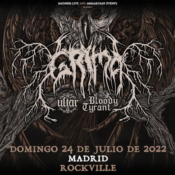 Comprar entradas Grima + Ultar + Bloody Tyrant (Madrid)