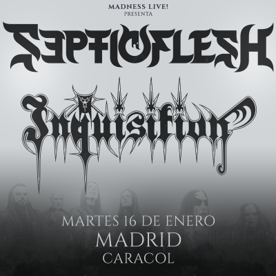Septicflesh + Inquisition + Odious (Madrid)