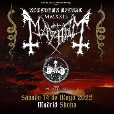 Comprar entradas para Mayhem + Mortiis (Madrid)