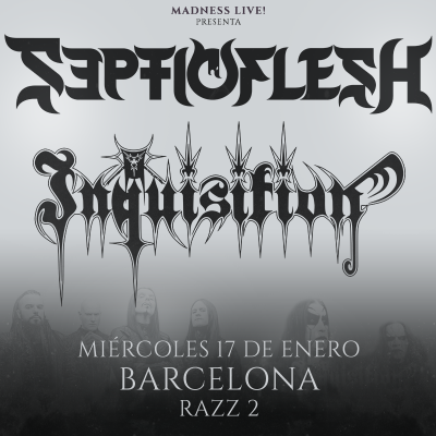 Septicflesh + Inquisition + Odious (Barcelona)