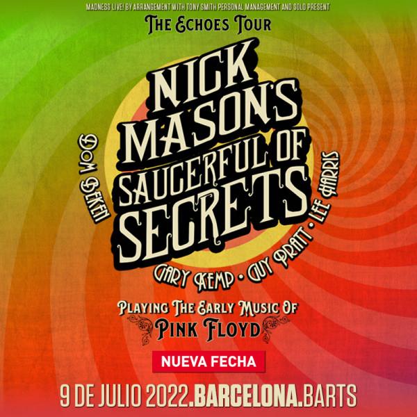 NICK MASON's Saucerful Of Secrets (Barcelona)