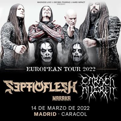 Entradas SepticFlesh + Carach Angren (Madrid)
