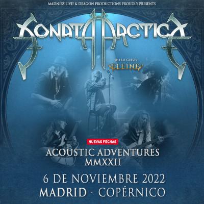 Sonata Arctica Acoustic Adventures + Eleine (Madrid)