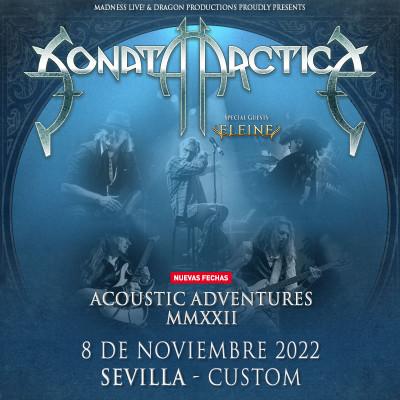 Sonata Arctica Acoustic Adventures + Eleine (Sevilla)