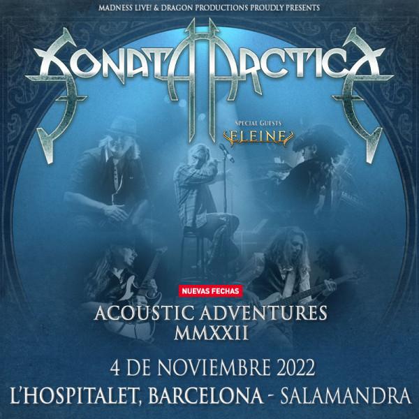 Sonata Arctica Acoustic Adventures + Eleine (Barcelona)