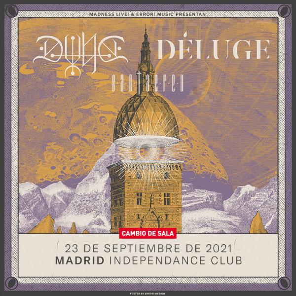 Comprar entradas para Dvne + Déluge + Santacreu (Madrid)