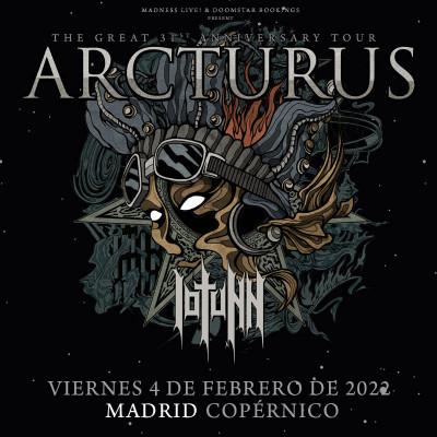 Arcturus + Iotunn (Madrid)