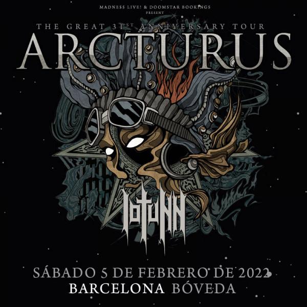 Arcturus + Iotunn (Barcelona)