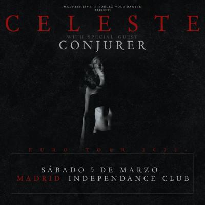 Celeste + Conjurer (Madrid)