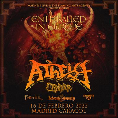 Atheist + Cadaver + Svart Crown + From Hell (Madrid)