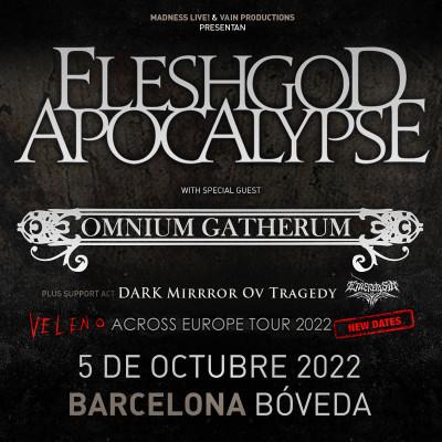 Comprar entradas para Fleshgod Apocalypse + Omnium Gatherum