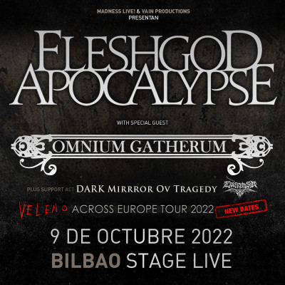 Fleshgod Apocalypse + Omnium Gatherum
