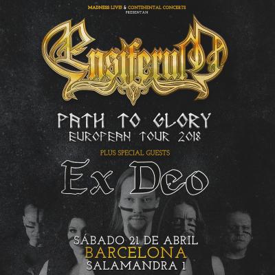Ensiferum + Ex Deo (Barcelona)