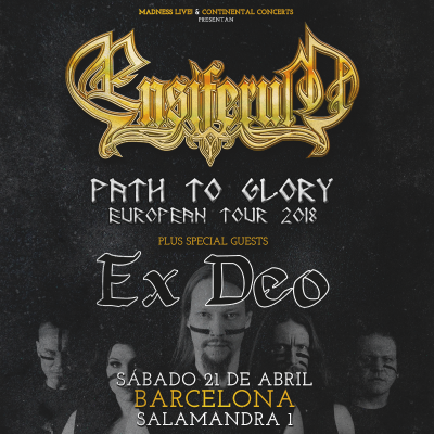 Ensiferum + Ex Deo + Wind Rose (Barcelona)