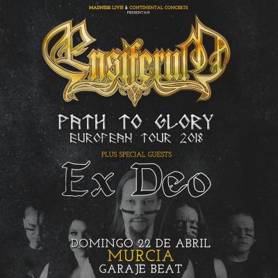 Ensiferum + Ex Deo + Wind Rose (Murcia)