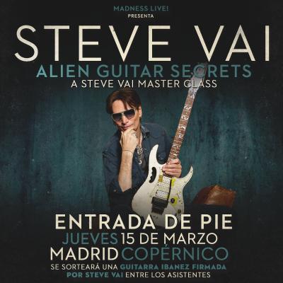 Steve Vai Masterclass DE PIE (Madrid)