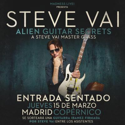 Steve Vai Masterclass SENTADO (Madrid)