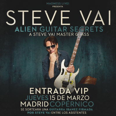 Steve Vai Masterclass VIP (Madrid)