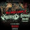Aborted + Cryptopsy + Benighted + Cytotoxin (Madrid)
