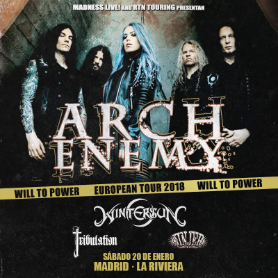 Arch Enemy + Wintersun + Tribulation + Jinjer (Madrid)