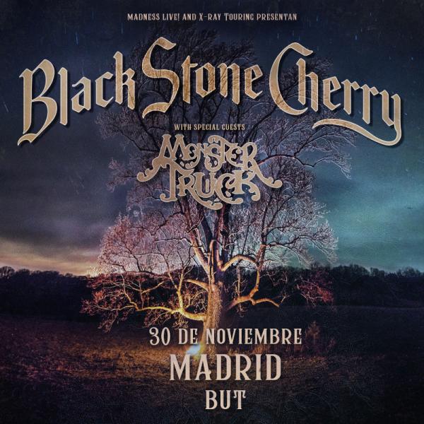 Black Stone Cherry + Monster Truck (Madrid)