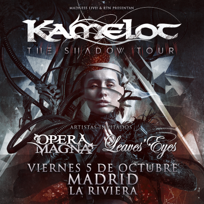 Kamelot + Opera Magna + Leaves' Eyes (Madrid)
