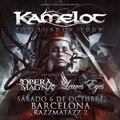 Kamelot + Opera Magna + Leaves' Eyes (Barcelona)
