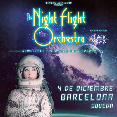 The Night Flight Orchestra + Black Mirrors (Barcelona)