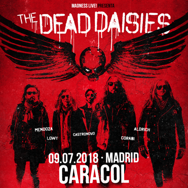 The Dead Daisies (Madrid)