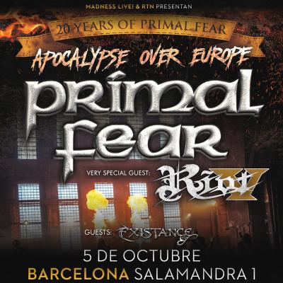 Primal Fear + Riot V + Existance (Barcelona)