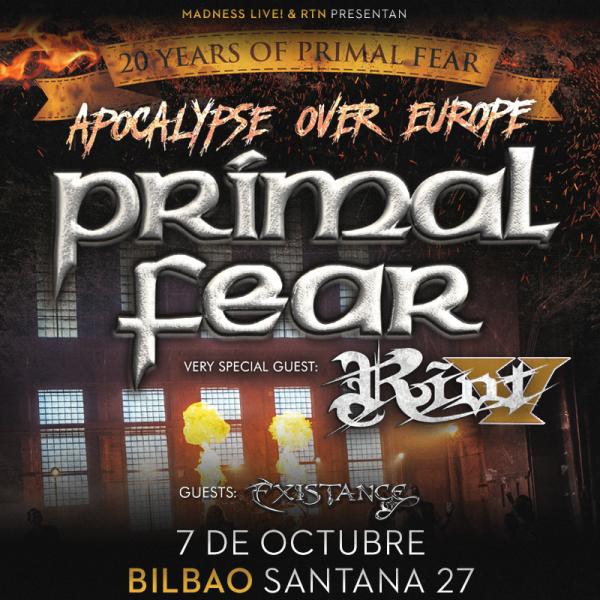 Primal Fear + Riot V (Bilbao)