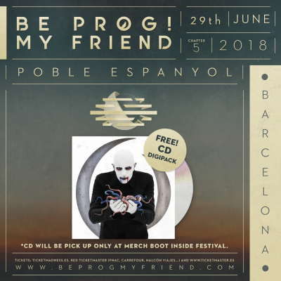 CD A Perfect Circle + 29th June Be Prog! My Friend 2018 (Barcelona)