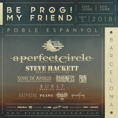 Abono Be Prog! My Friend 2018 (Barcelona)