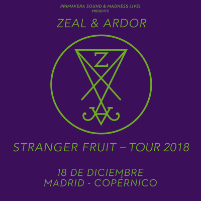 Zeal & Ardor (Madrid)
