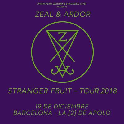 Zeal & Ardor + Foscor (Barcelona)