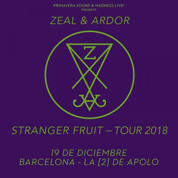 Zeal & Ardor (Barcelona)