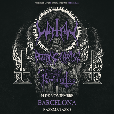 Watain + Rotting Christ + Profanatica (Barcelona)