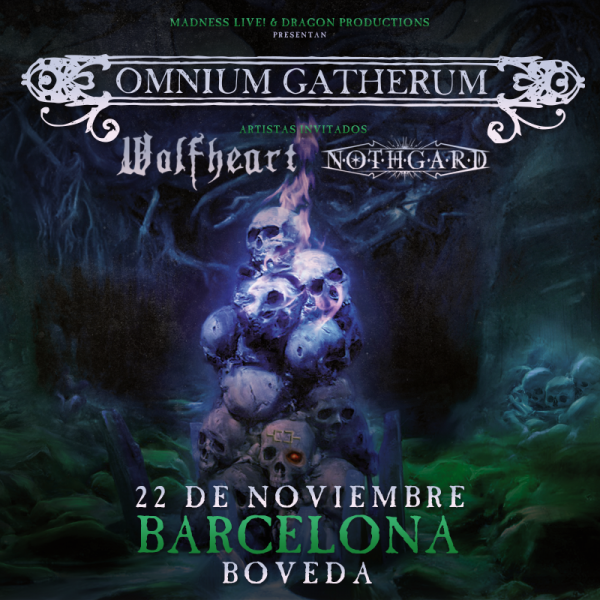 Omnium Gatherum + Wolfheart + Nothgard (Barcelona)