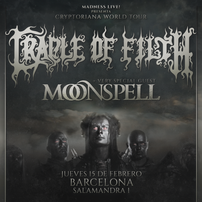 Cradle of Filth + Moonspell (Barcelona)