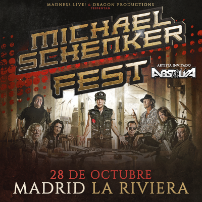 Michael Schenker Fest + Absolva (Madrid)