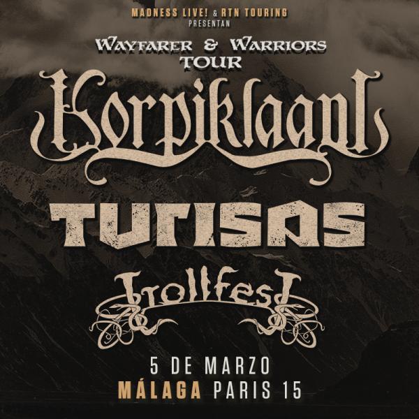 Korpiklaani + Turisas + TrollfesT (Málaga)