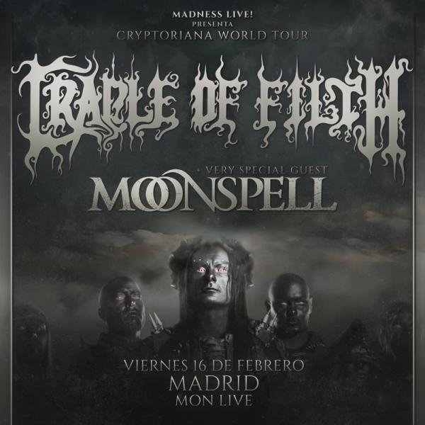 Cradle of Filth + Moonspell (Madrid)