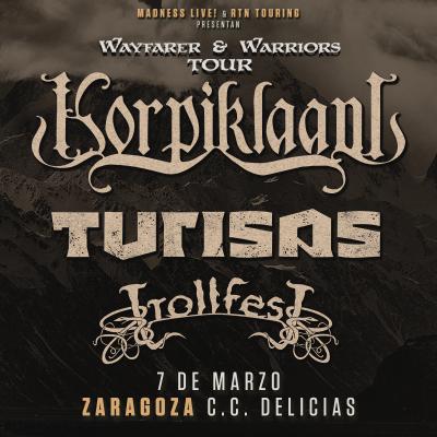 Korpiklaani + Turisas + TrollfesT (Zaragoza)
