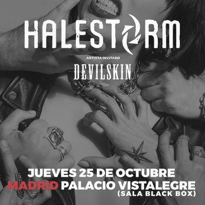 Halestorm + Devilskin (Madrid)