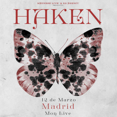 Haken + Vola + Bent Knee (Madrid)